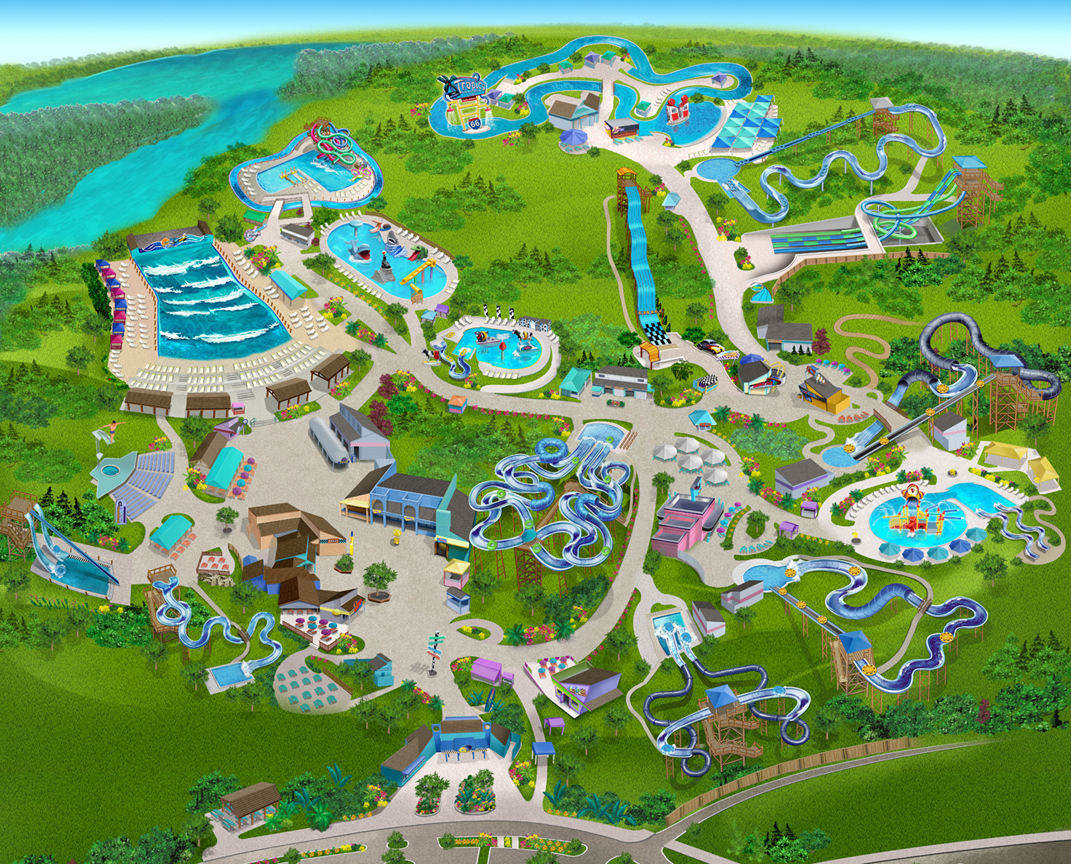 Busch Gardens Williamsburg Park Map Garden Ftempo